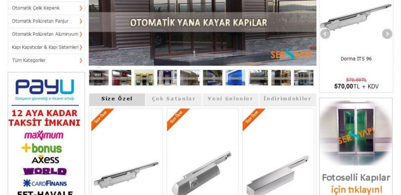 Door Tekno E-Ticaret Sitesi
