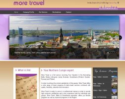 More Travel LV Web Sitesi