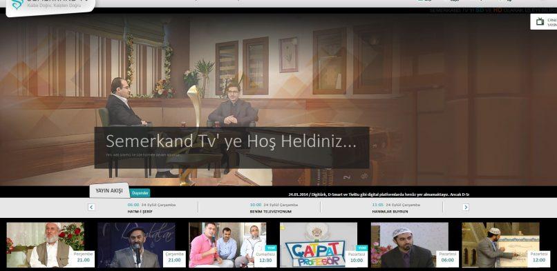 Semerkand Tv Demo Web Sitesi