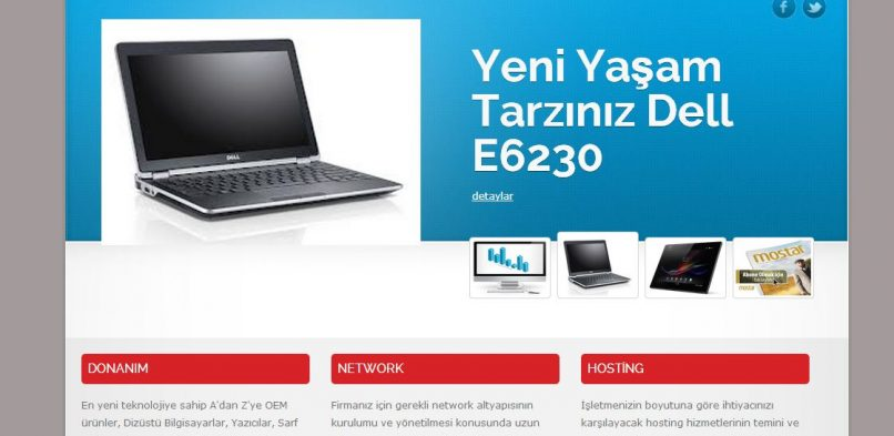 YDS Bilişim Web Sitesi